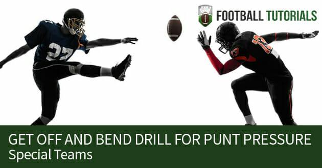 punt pressure get off and bend