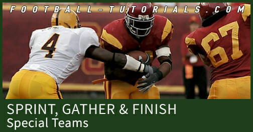 special teams sprint gather finish