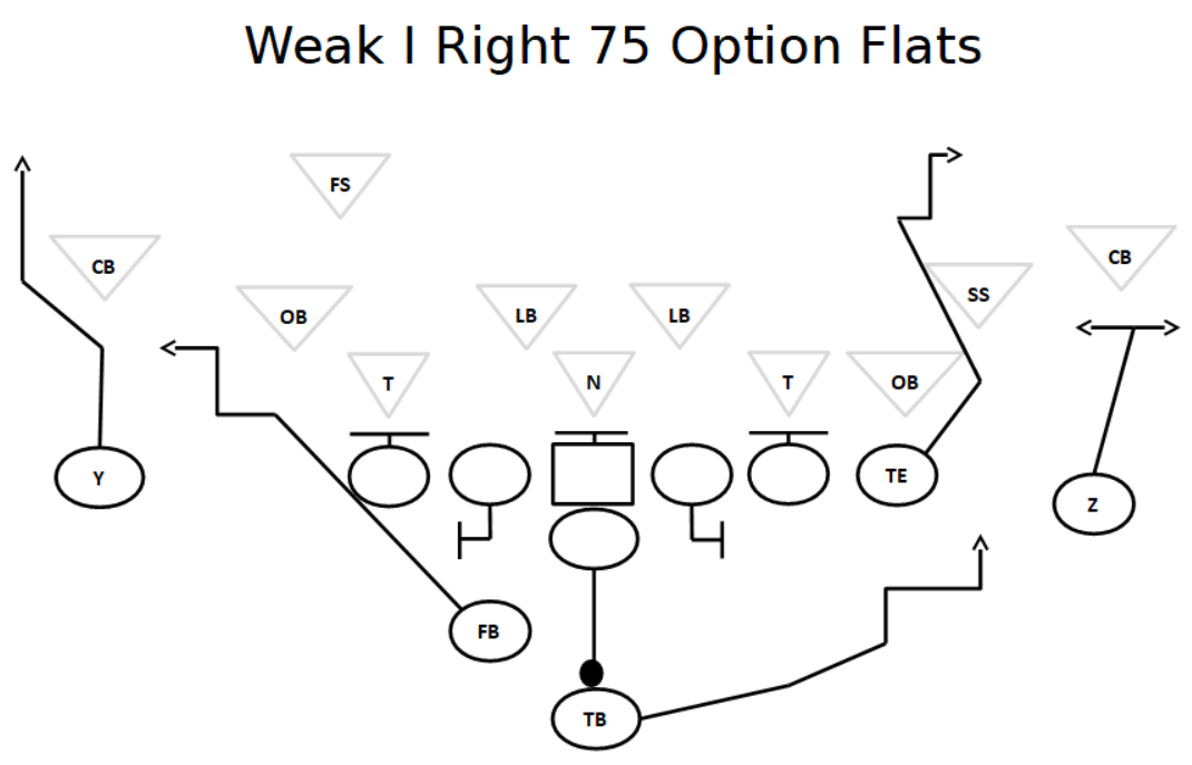 i formation passing plays