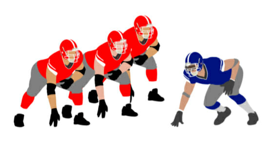 Block Recognition Football Defense Drill
