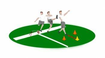 Follow Through Special Teams Football Drill