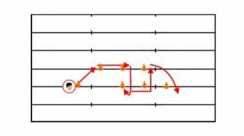 WR Footwork Drill